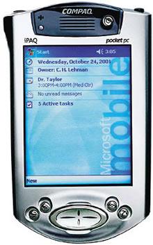 Compaq iPAQ H3870 / H3875 (HTC Rosella)