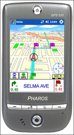 Pharos Traveler GPS 525 (HTC Galaxy)