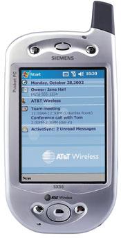 Siemens SX56 (HTC Wallaby)